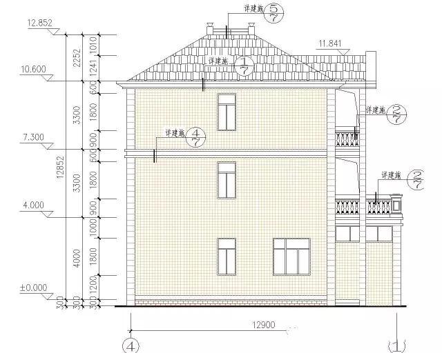 现在农村建房也开始追求新颖、美观、舒适,讲究与时俱进,时尚美观又经济实用的别墅大家都喜欢,今天给大家介绍一款农村三层小别墅设计方案,喜欢的朋友可以回家建设。 效果图:  请点击此处输入图片描述 总建筑面积366.4平方米,主体建筑面积147.7平方米,建筑总高度11.1米,可以为框架结构,也可以设计为砖混结构。户型为三层单家独院式别墅,占地面积147.