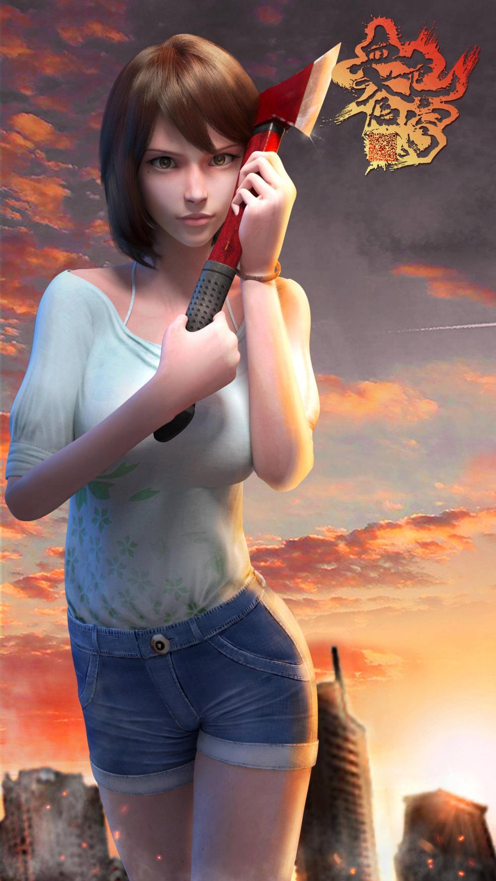 《血色苍穹》3D动画完整版人设海报爆出