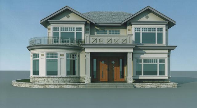 农村二层楼房设计图 建好可媲美城市洋别墅