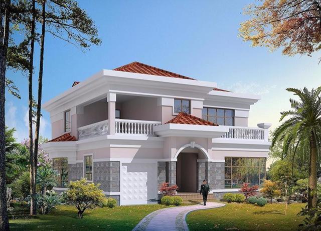 (农村二层楼房设计图)建好可媲美城市洋别墅!