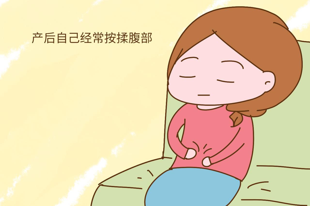 生完孩子肚子很难再收回去? 一定是产后忽略了这个动作图片