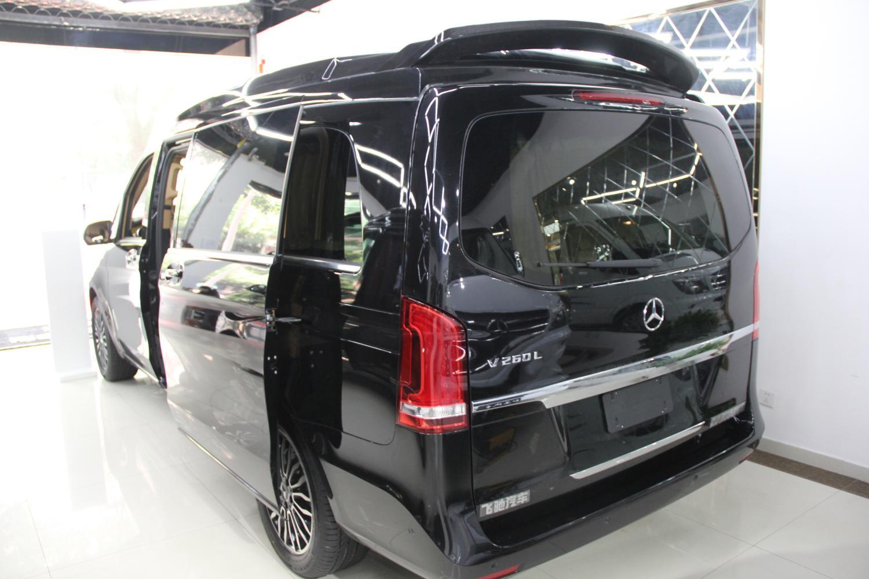 奔驰v260改装7座豪华mpv商务车房车