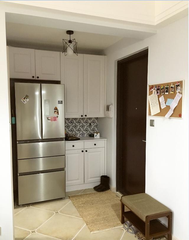 双开门冰箱柜子客厅效果图大全