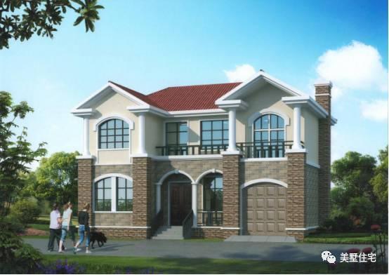 买房不如回农村建洋别墅, 3套2层农村别墅价格贴心房子又漂亮