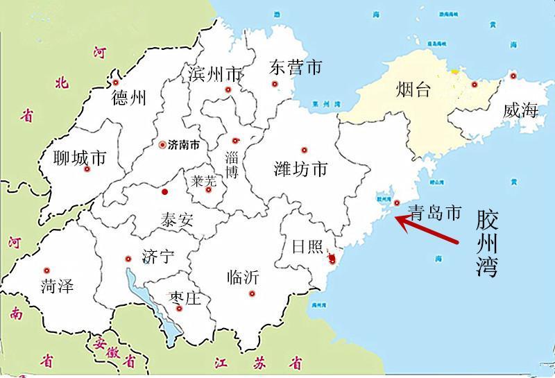 德国占领之前的青岛,不过是胶州湾上几个普通的渔村而已,与胶东半岛沿