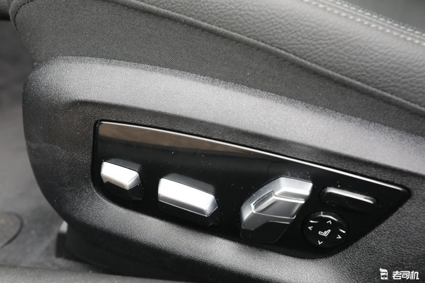 座椅记忆和车窗控制按键