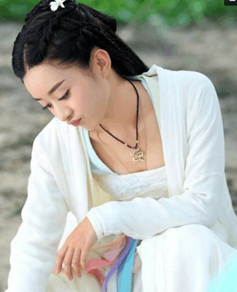七大古装美女白衣扮相, 赵丽颖的花千骨排第6, 第一至今无人超越