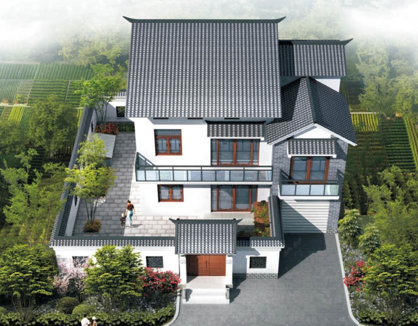 5万农村房屋设计图