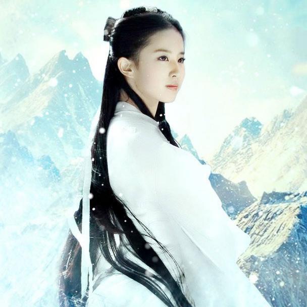 白衣古装女神, 杨幂 白浅 第二, 第一实至名归图片