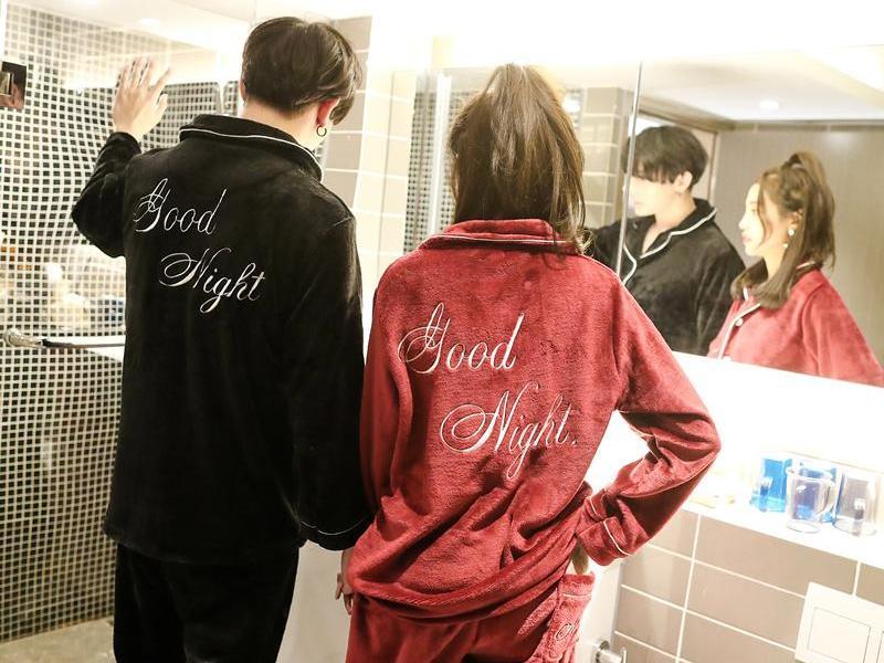 漂亮又保暖的睡衣, 当然适合美丽的你