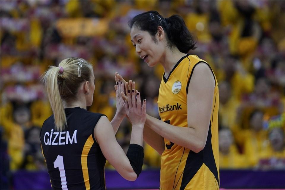 一切果为有墨婷 在绍兴感触感染主场报酬 古德蒂感激中国女排球迷撑持