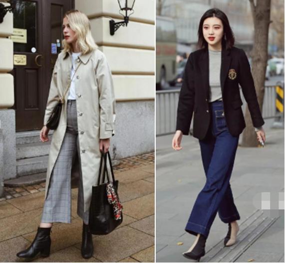 女人冬天穿衣显胖? 选对3种裤型, 套秋裤穿也能轻松显瘦!