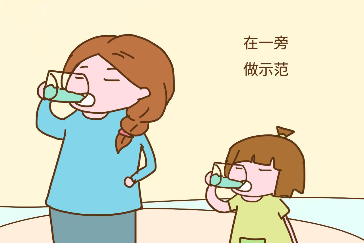 幼儿喝水流程图片