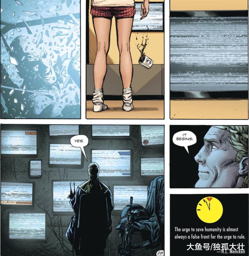 《末日警钟》超人类危机将会提前爆发, 超人犯下严重的错误!