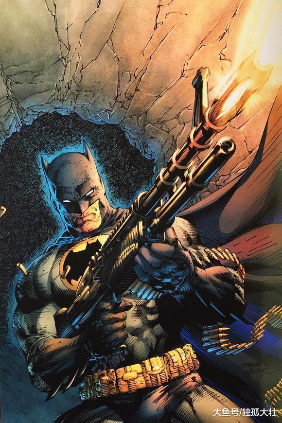 黑化蝙蝠侠即将登场, 布鲁斯·韦恩成为枪械大师, 蝙蝠侠版惩罚者?