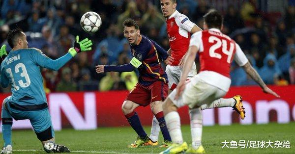 梅西面临英超六强的进球数: 阿森纳最受伤, 利物浦还出有被攻破