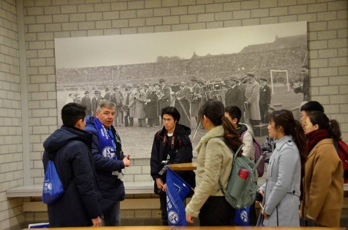 中国粹子探营皇家蓝-沙尔克体验日第二弹: 欧冠专场
