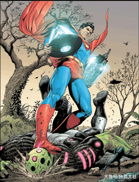 超人其实一直在装菜, 全力爆发可以打败任何的敌人!