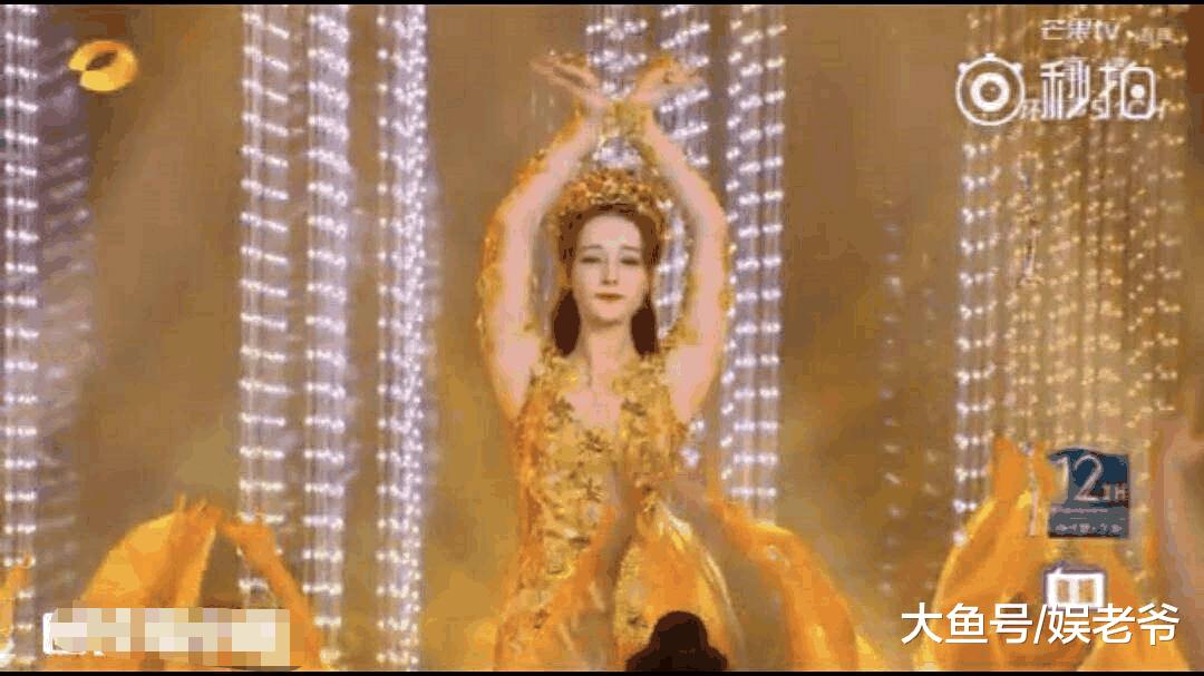 迪丽热巴成历代最壮金鹰女神? 网友: 不是靠暴饮暴食减肥的吗?