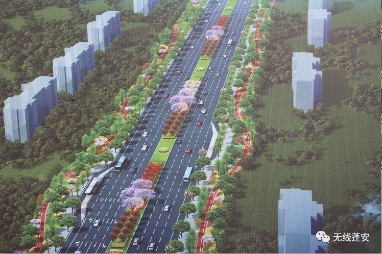 近日,记者在蓬安县旅游环线凤凰大道入口处看到:该项目建设正如火如荼