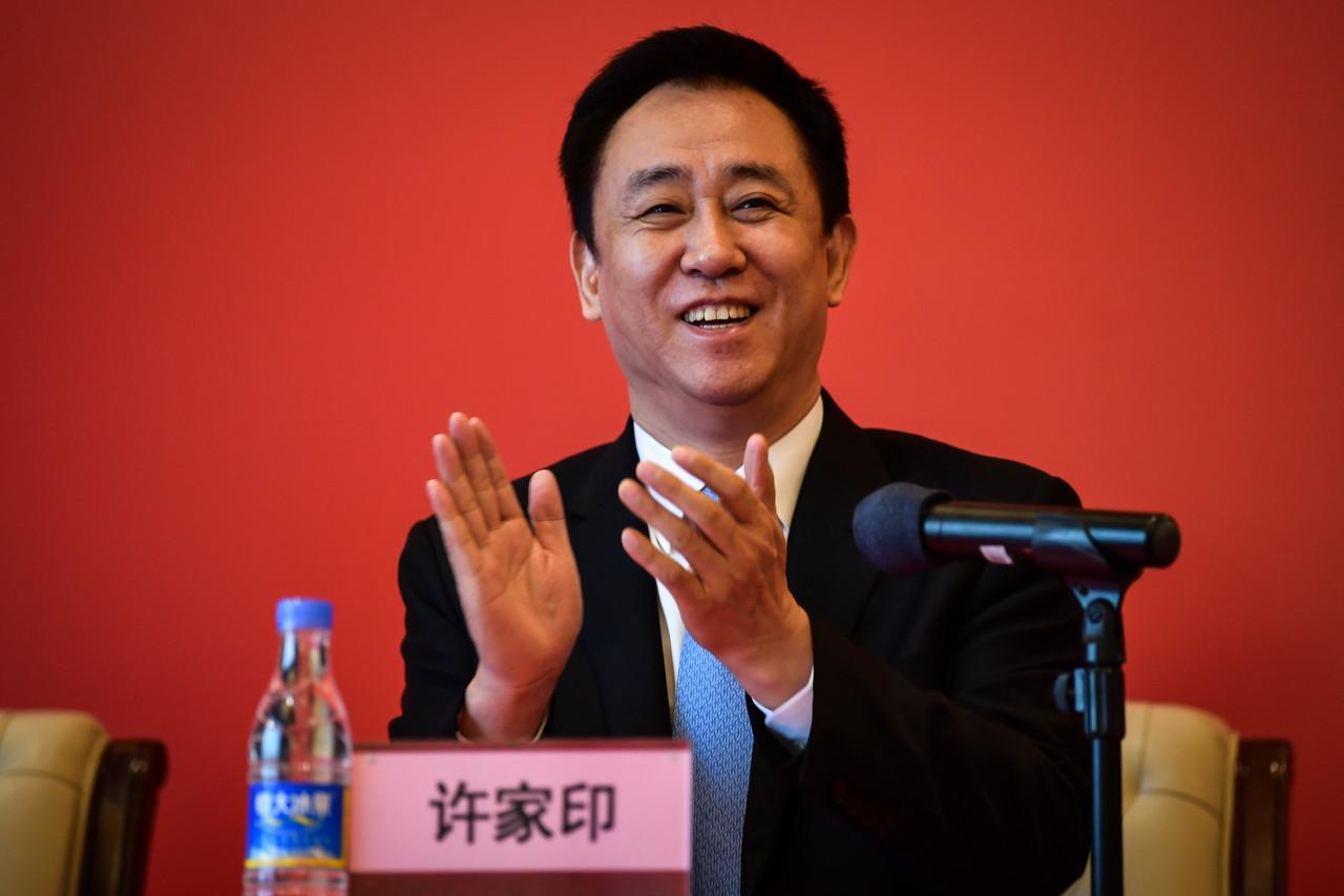 恒年夜老板许家印成为中国尾富, 马云、马化腾紧随厥后