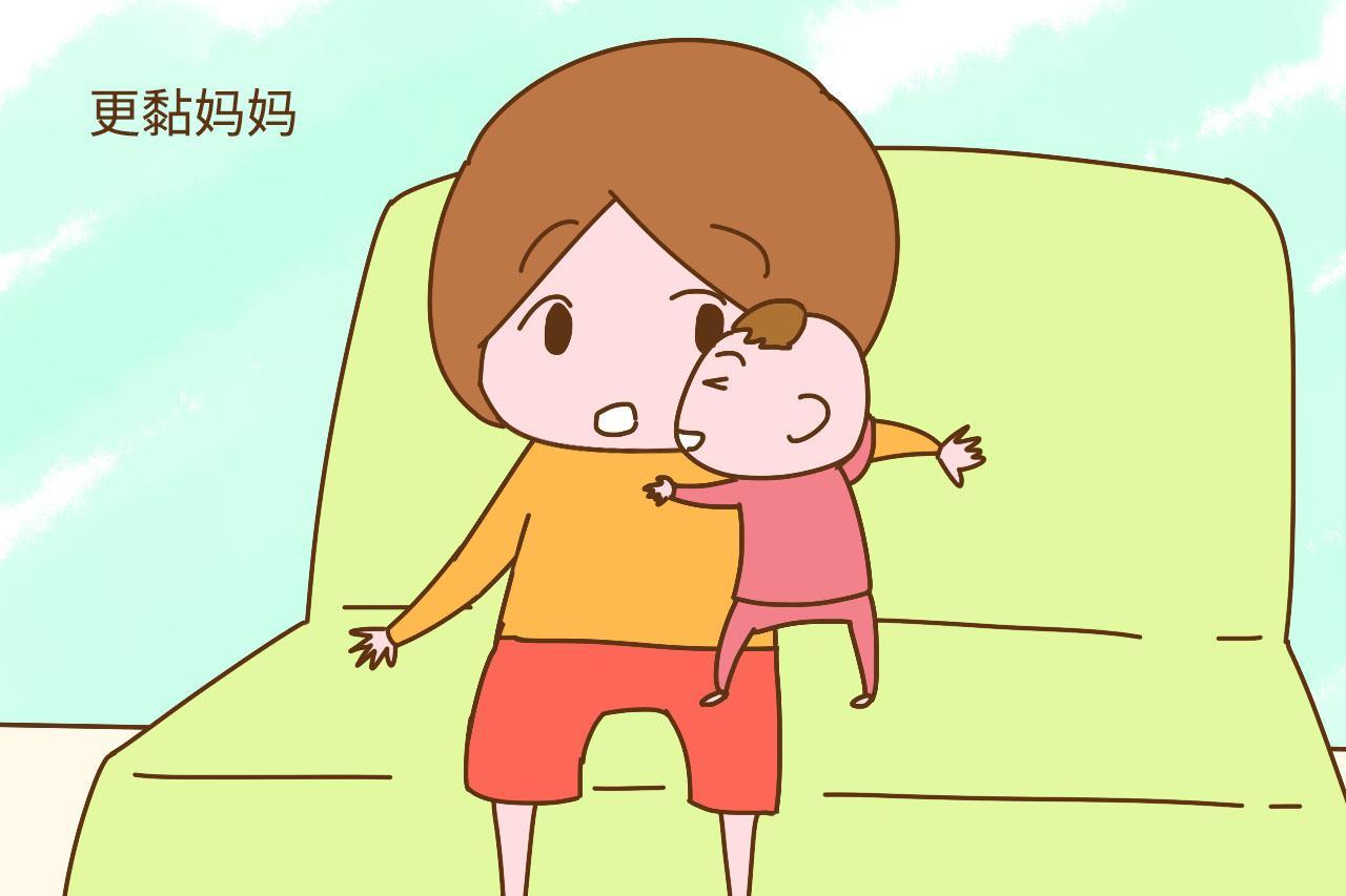 天黑之后宝宝就特别黏妈妈, 背后缘由让人心疼
