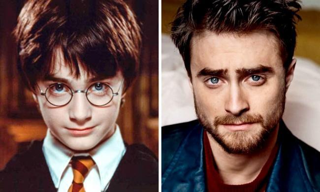 """""""哈利波特""""距今上映16年, 当年的演员们和长大后的对比惊人呀"""