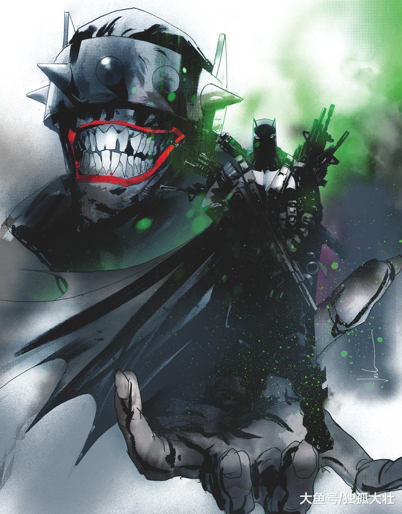 小丑已经没时间和蝙蝠侠玩游戏了, 狂笑蝙蝠才是他最大的敌人!