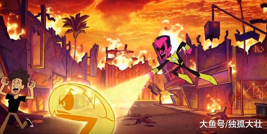 少年泰坦成为哥谭市第一反派组织, 成功的消灭了所有的超级英雄!
