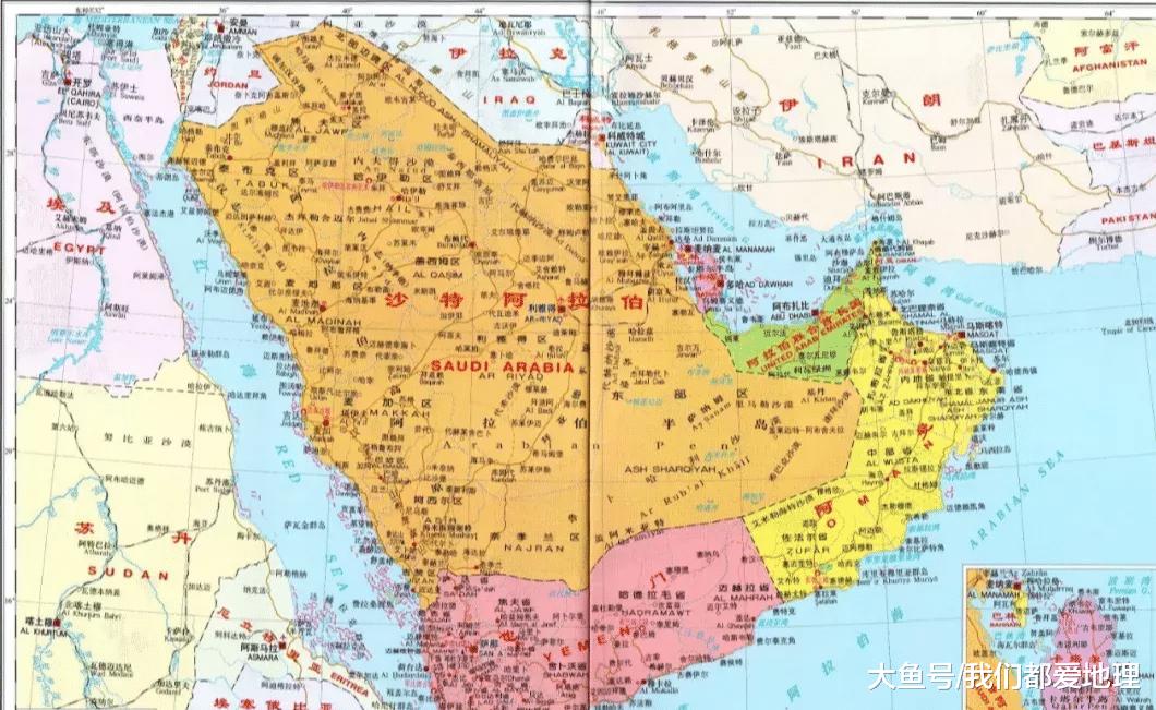 世界上独一具有4个尾皆的国度, 您晓得是哪个吗?