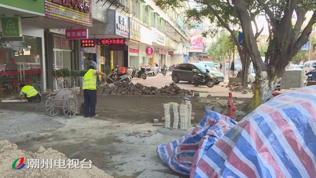 潮州这张刷爆朋友圈的图片, 原来是市民误入施工地造成的