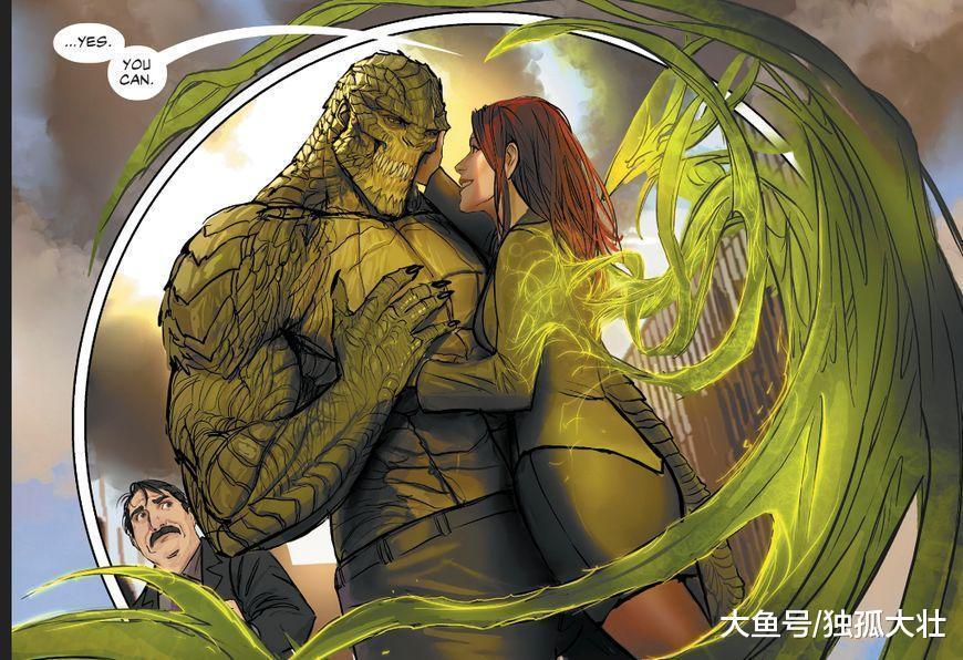 魅惑女巫竟然找了杀手鳄当男朋友, 小哈莉刚刚失恋, 差距太大了!
