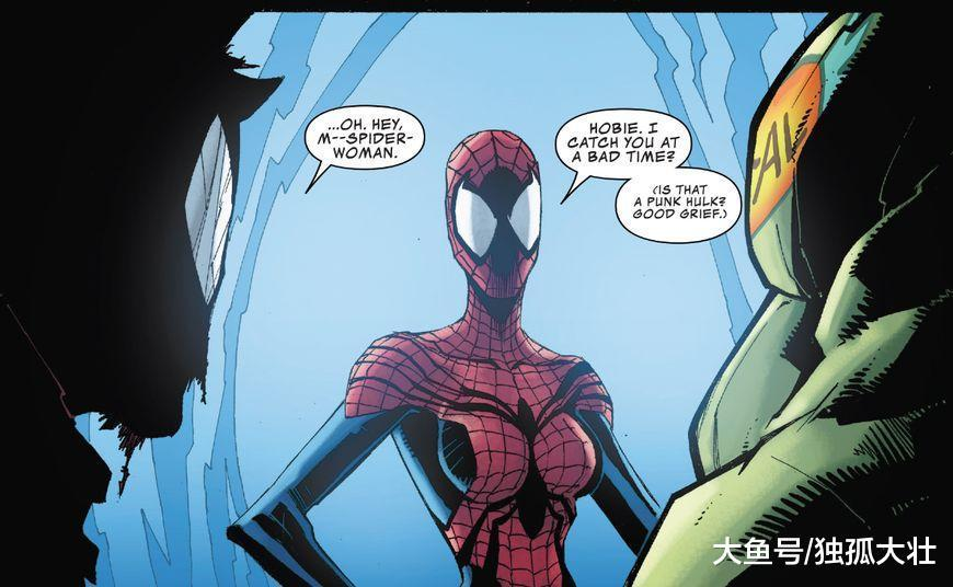 《蜘蛛末日》朋克蜘蛛侠大战征服者康, 绿巨人帮他一拳搞定!