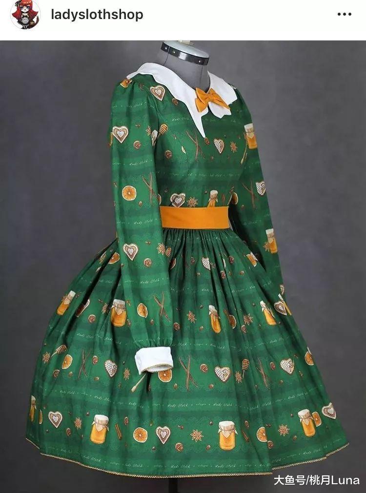微胖lo娘超爱的甜美风洛丽塔,竟然是波兰设计
