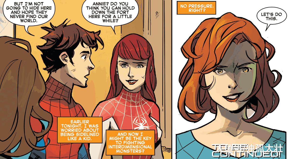 《蜘蛛末日》少女蜘蛛侠开始集结, 安妮竟是打败继承者的关键!