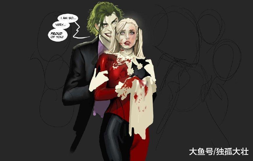 哥谭市的男人都是大猪蹄子, 蝙蝠侠和小丑都是爱情白痴!