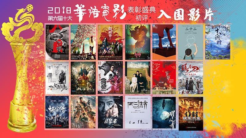 十大华语电影 入围影片