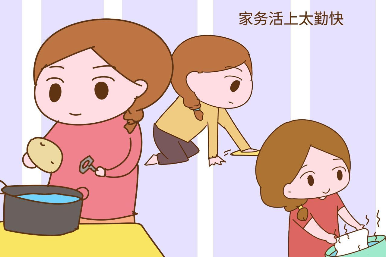 妈妈在这2件事上越勤快, 家庭可能越不幸福, 别