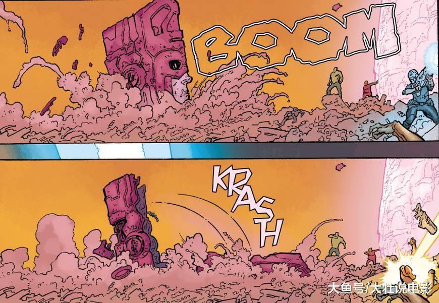 行星吞噬者彻底沦为搞笑角色, 还没开打自己就败了! 太丢人了!