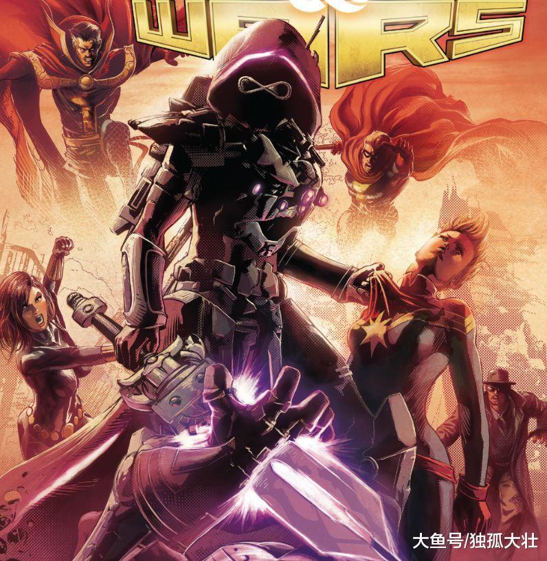 黑化的卡魔拉究竟多么强大, 集齐无限宝石才能对抗她的力量?