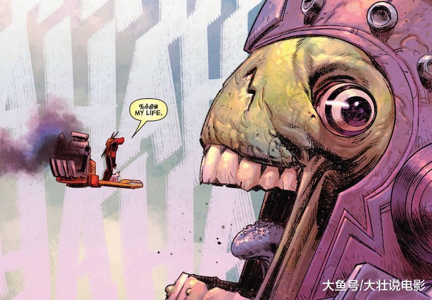 死侍被复仇者联盟围攻, 还要单挑行星吞噬者, 太悲剧了!