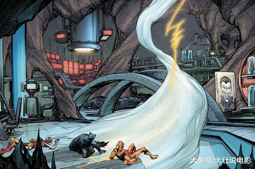 最悲剧的闪电侠, 被囚禁在神速力中数年, 又被曼哈顿博士秒杀!