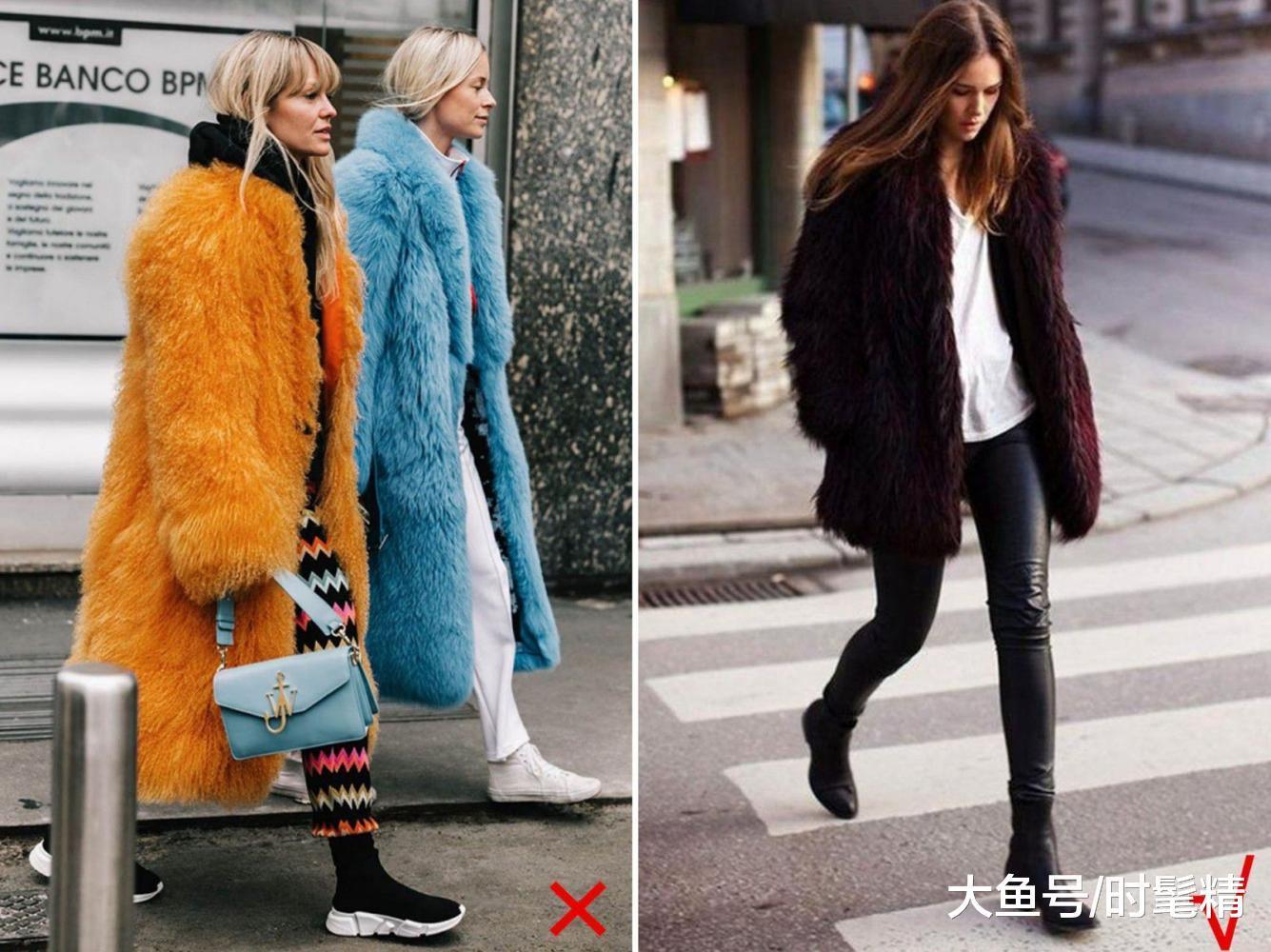 """女人穿""""皮草""""显贵气,但要避免3种款式,不然俗气臃肿浪费钱!"""