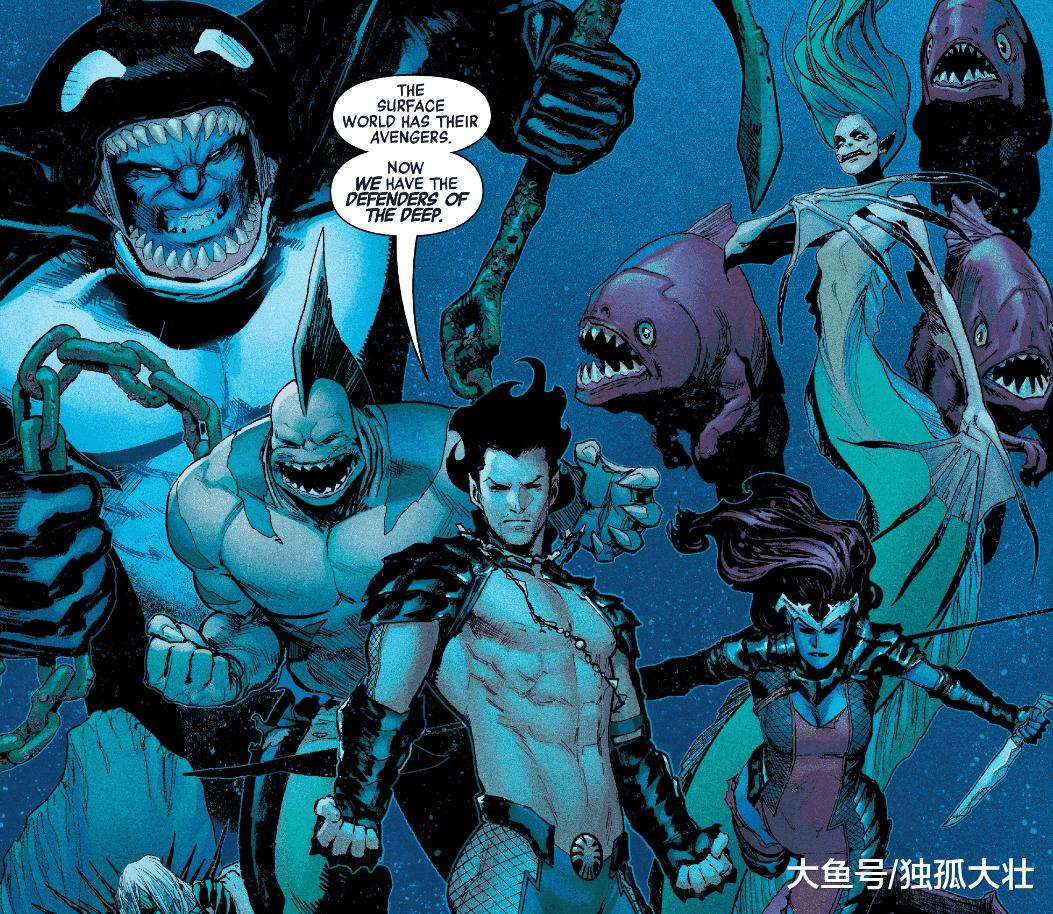 《复仇者》超级英雄纳摩已经黑化, 亚特兰蒂斯将和人类成为敌人!