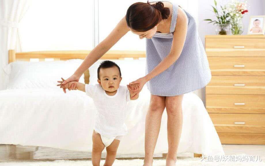 孩子9个月会走路真的好吗? 教孩子走路, 妈妈常犯的5个错