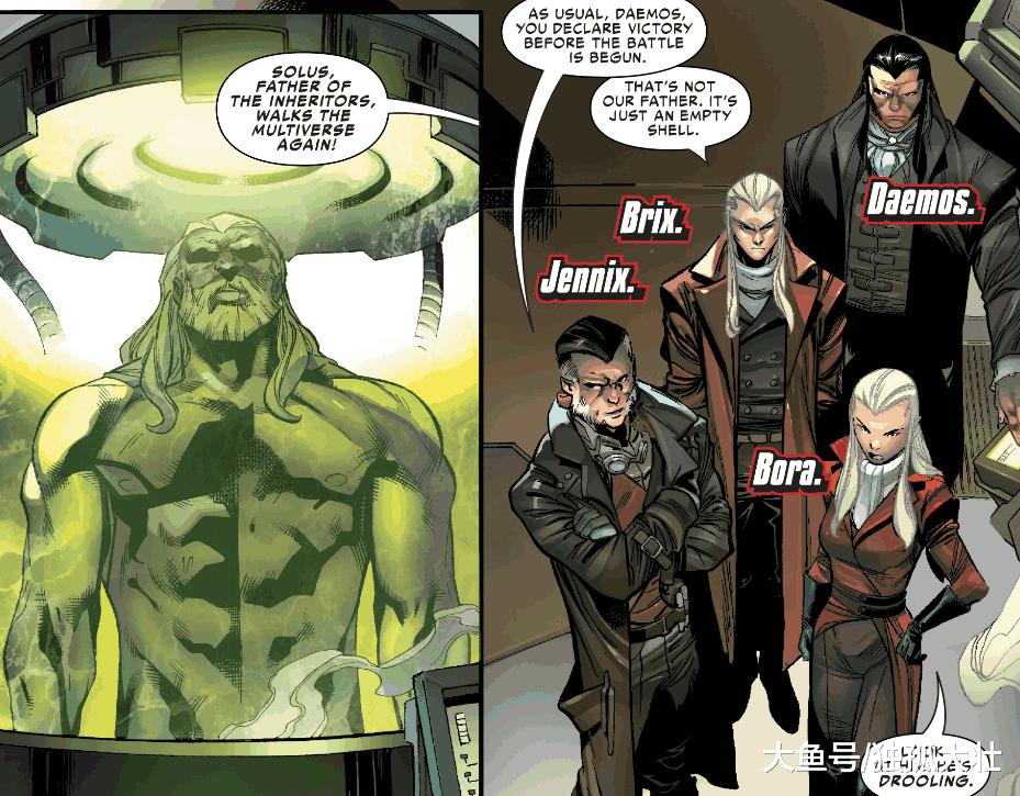 蜘蛛侠的天敌, 吞噬蜘蛛侠的继承者家族到底有多么可怕?