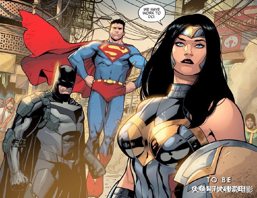 《不义联盟2》蝙蝠侠身穿超级战甲, 英雄们大战亚魔卓机器人!