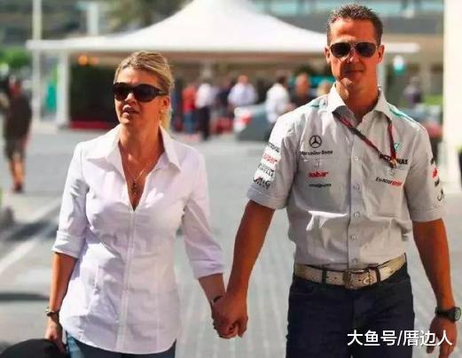 实爱! 妻子不离不弃每周5万英镑持续拯救车王 舒马赫的事业女神