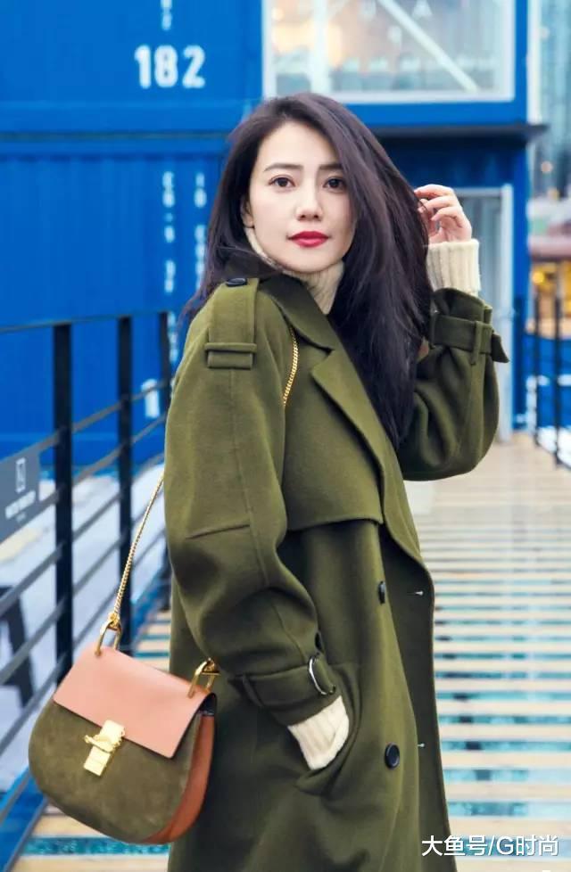 穿上这件绿色时尚单品你就是整条街上最靓的仔