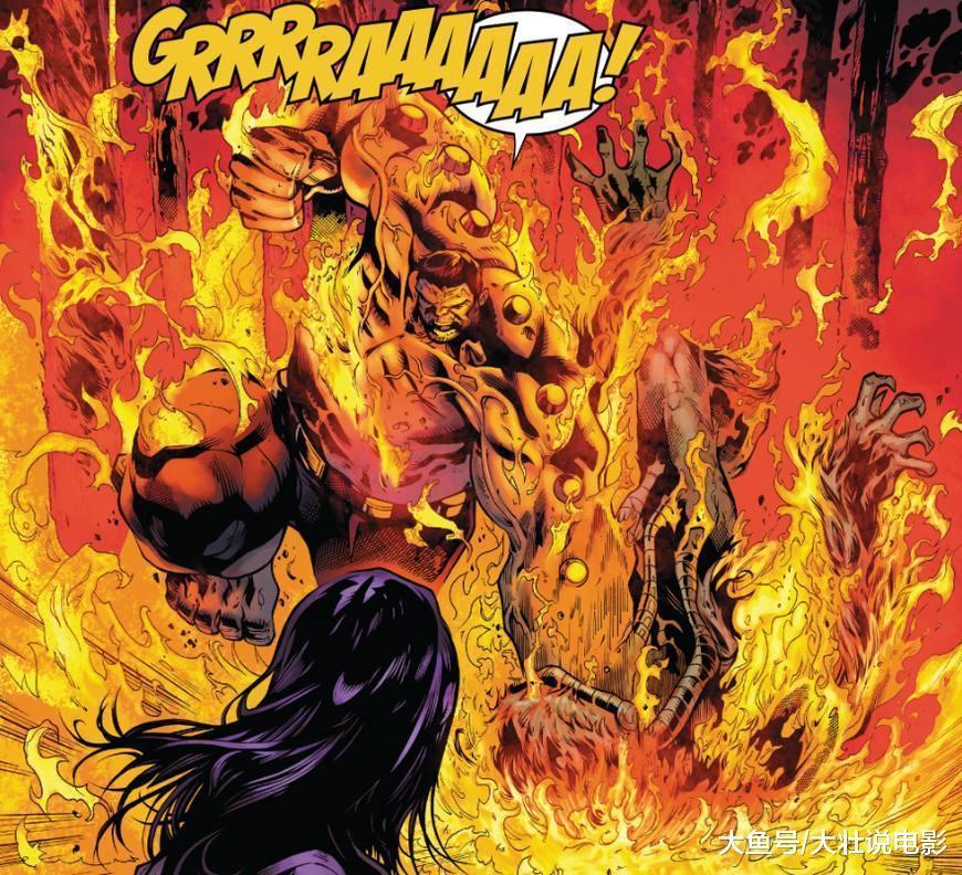 漫威宇宙最霸气新英雄, 金刚狼绿巨人合体, 还会火焰霸气?